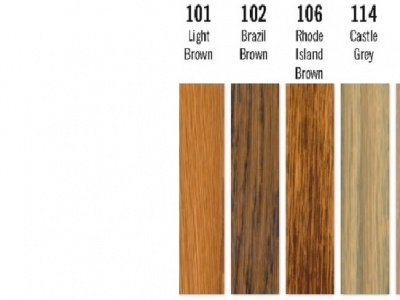 101 Light Brown - Colour Oil - Woca