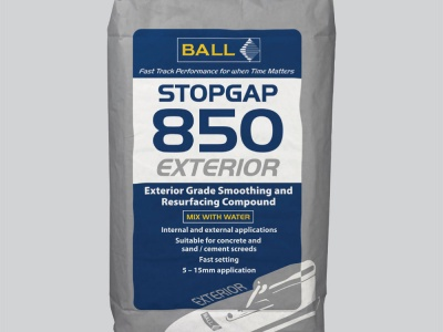 Stopgap 850 Exteriour 2,9m2 met 5mm - Egaline - F.Ball