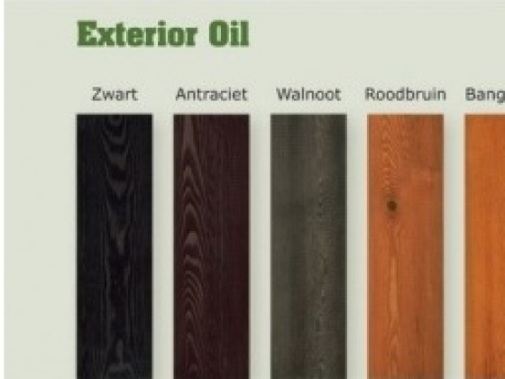 Exterior Oil Antraciet - Exterior Oil  - Woca