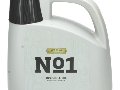 No1 Invisible Oil 2,5L - Invisible Olie [STAP 2] - Woca
