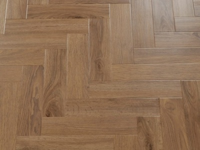 GWF055 oak-gold brown - Modern Vintage Visgraat - Green Flor